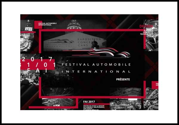 Festival Automobile Internation 2017